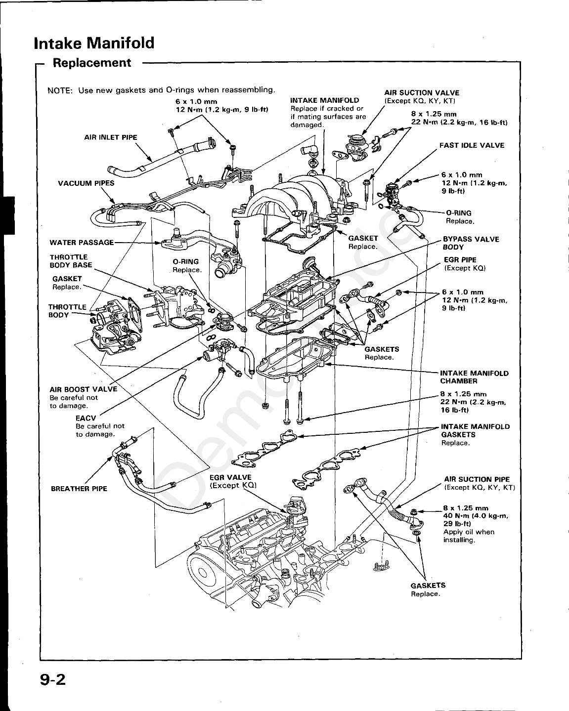 89 legend engine belt diagram control diagrams wiring